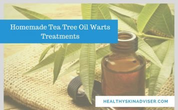 tea tree oil warts