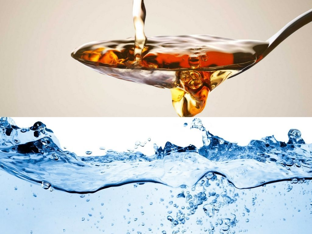 water and venigar for pimples on scalp