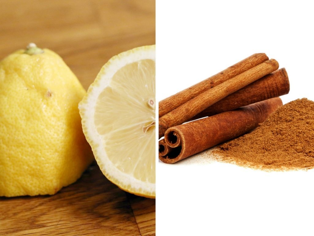 Lemon juice with cinnamon for acne