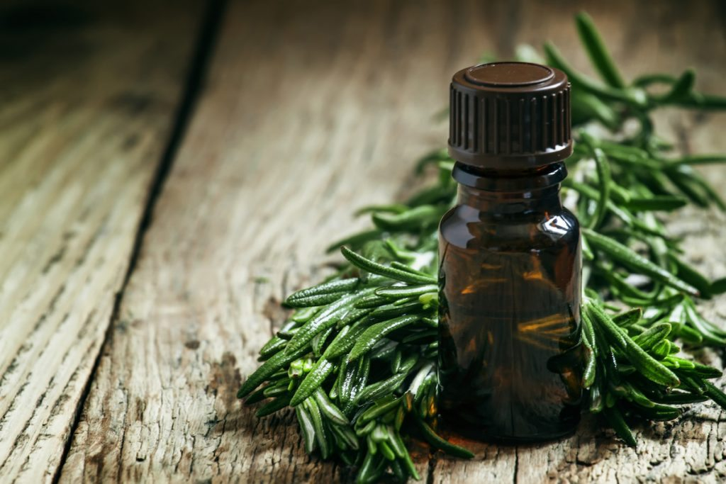 tea tree oil for acne on scalp