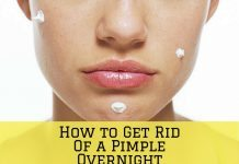 ow to Get Rid Of a Pimple Overnight