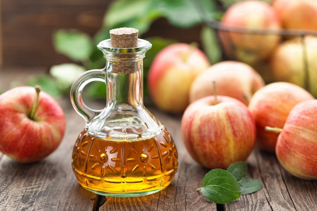 Apple cider vinegar for guttate psoriasis