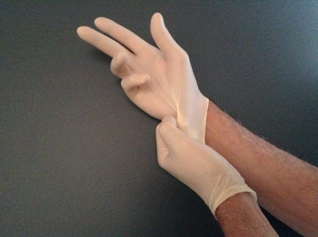 gloves to protect yourself from nail psoriasis
