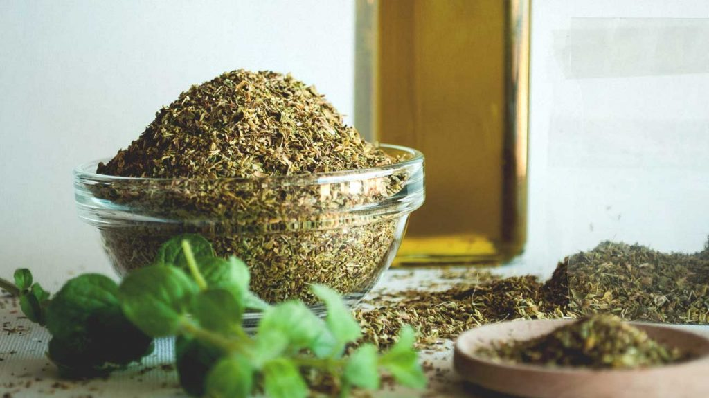 Oregano oil for pimple on scrotum