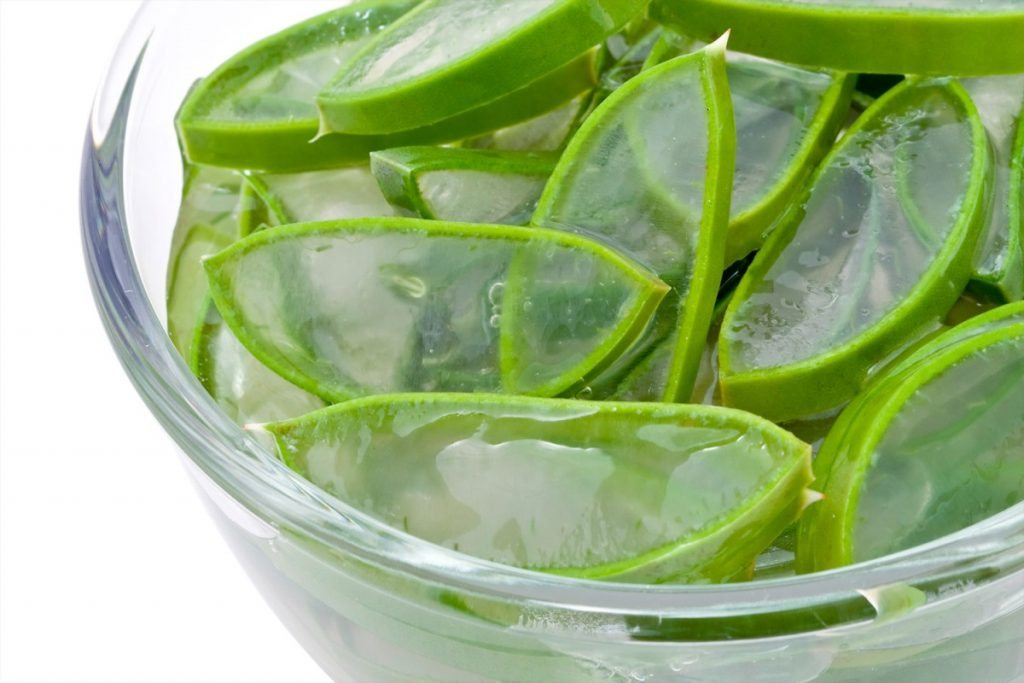 Aloe vera for pimple on scrotum