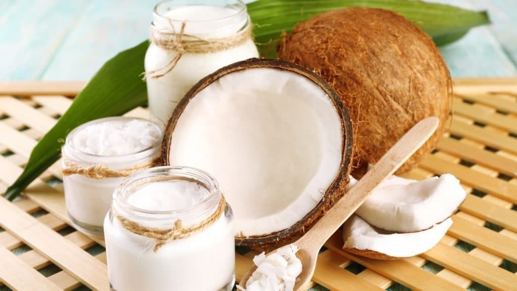 Coconut oil for pimple on scrotum