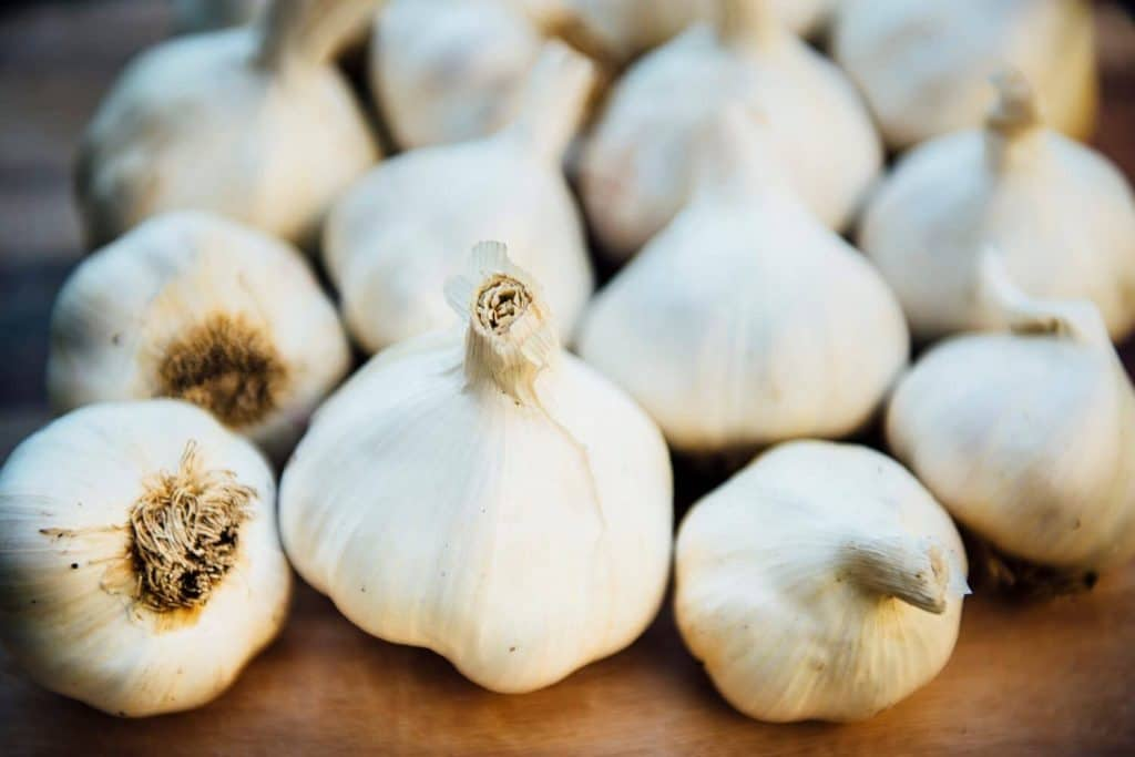 Garlic for pimple on scrotum
