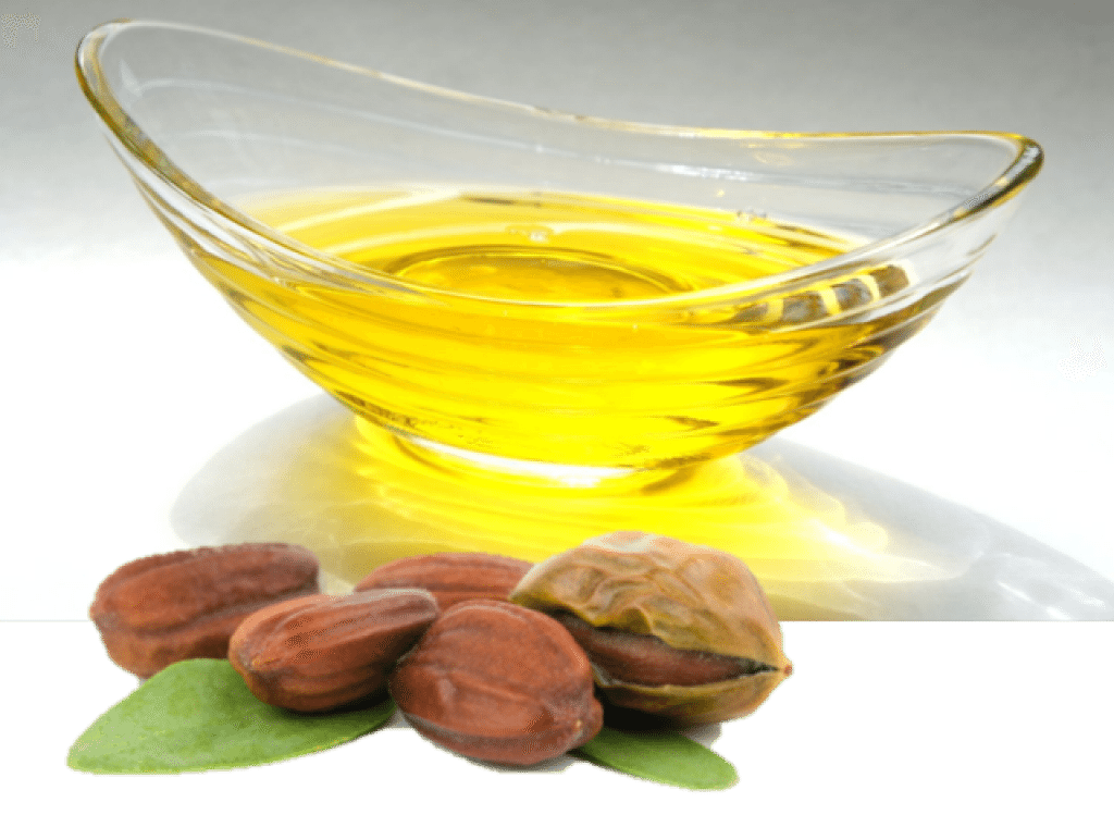 Jojoba essential oil for rosacea