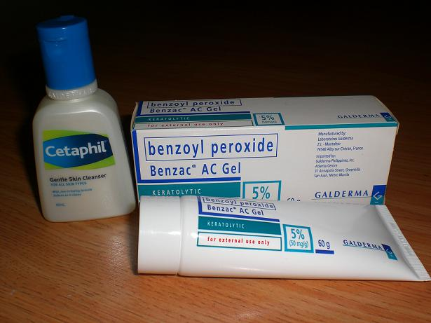 cetaphil benzoyl peroxide benzac