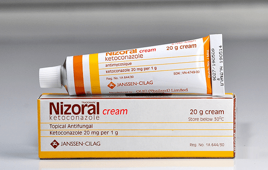 nizoral cream for acne